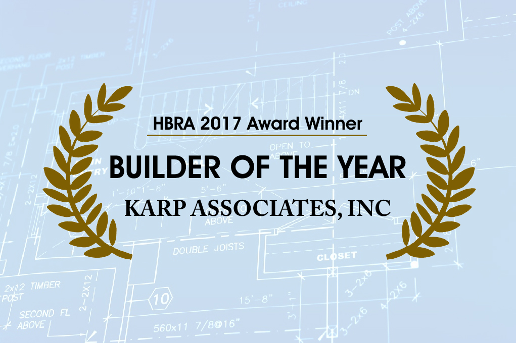 HBRA Award - Karp Associates Inc