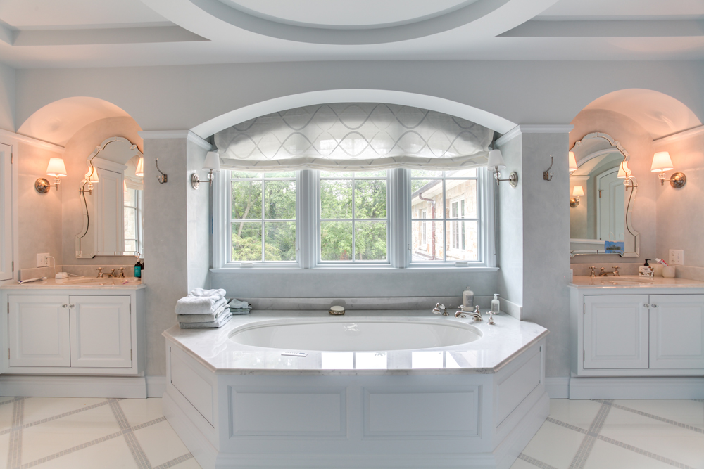 Luxurious custom bathrooms